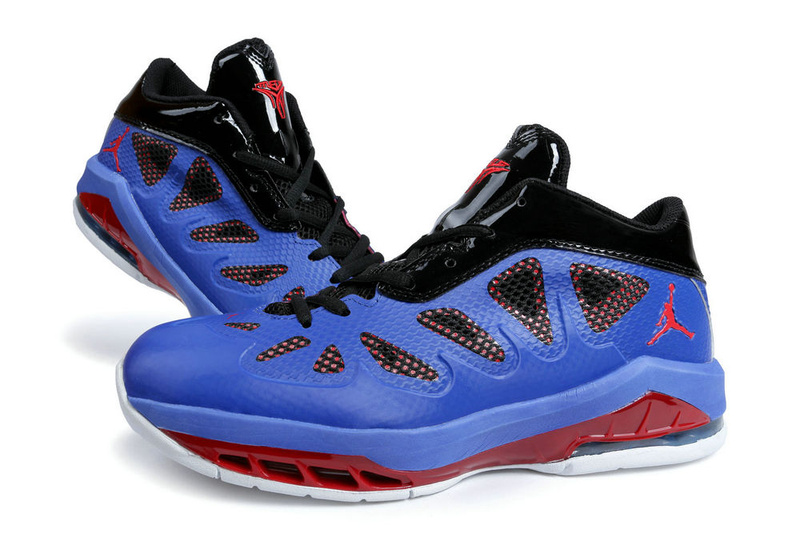 Jordan Melo 8 Blue Red White Shoes
