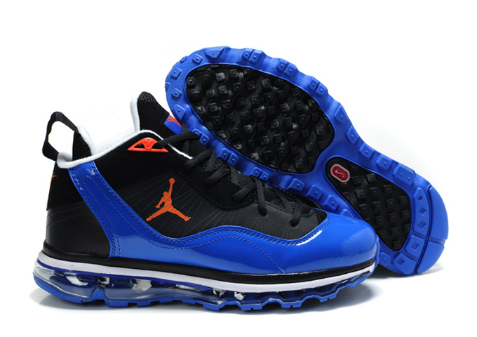Jordan Melo M8+Max 09 Black Blue Shoes