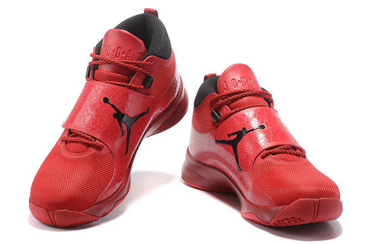 2017 Jordan Super.Fly 5 Red Black Shoes