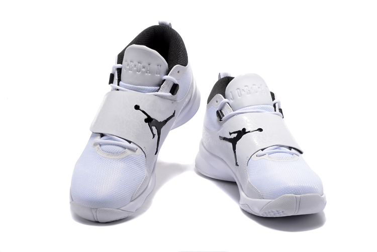 2017 Jordan Super.Fly 5 White Black Shoes