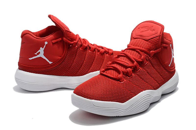 2017 Jordan Super.Fly 6 Red White Shoes