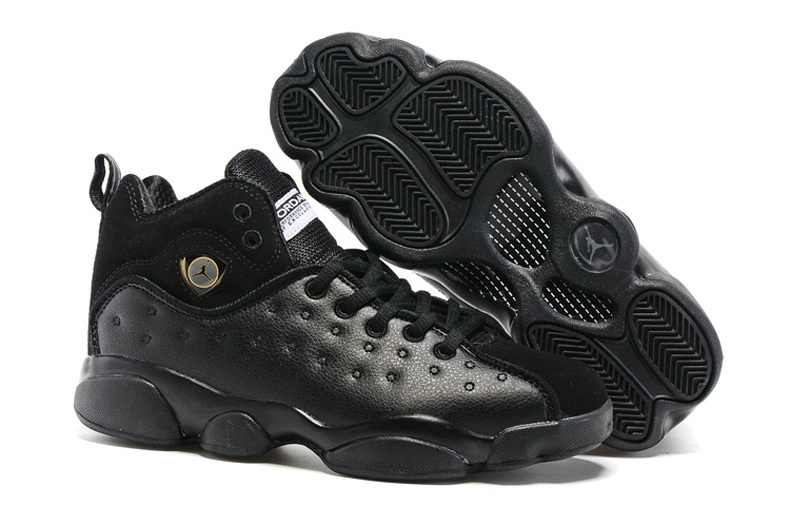 Jordan Team 2 GS All Black Shoes