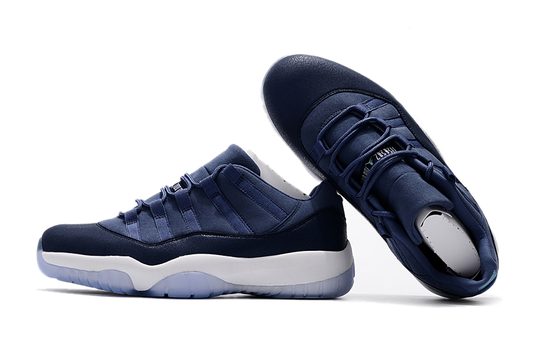 Jordans 11 Low Dark Blue Shoes