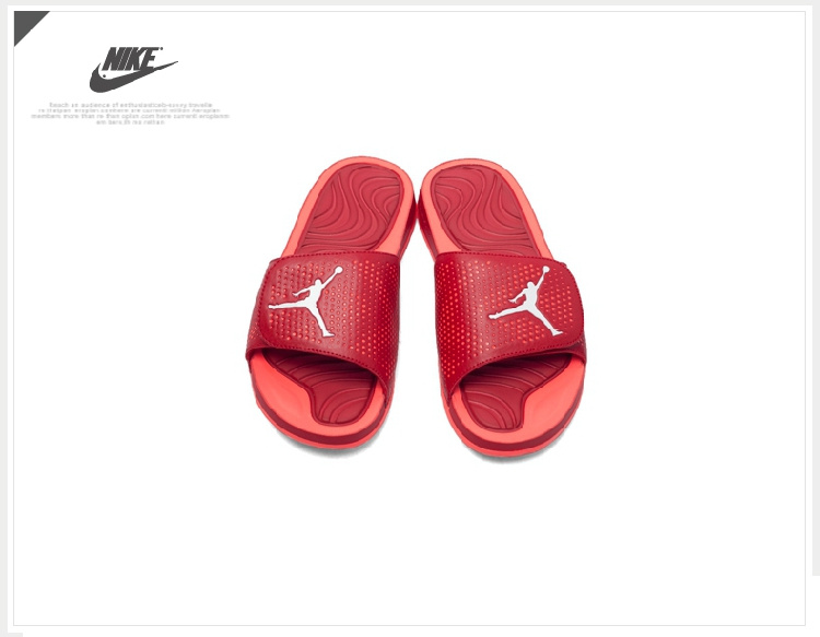 2016 Air Jordan Hydro 5 Slide Sandals All Red