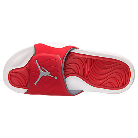 2016 Air Jordan Hydro 5 Slide Sandals Red White