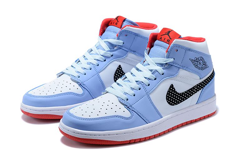 2020 Air Jordan 1 Retro Baby Blue White Black Red 20retro3912