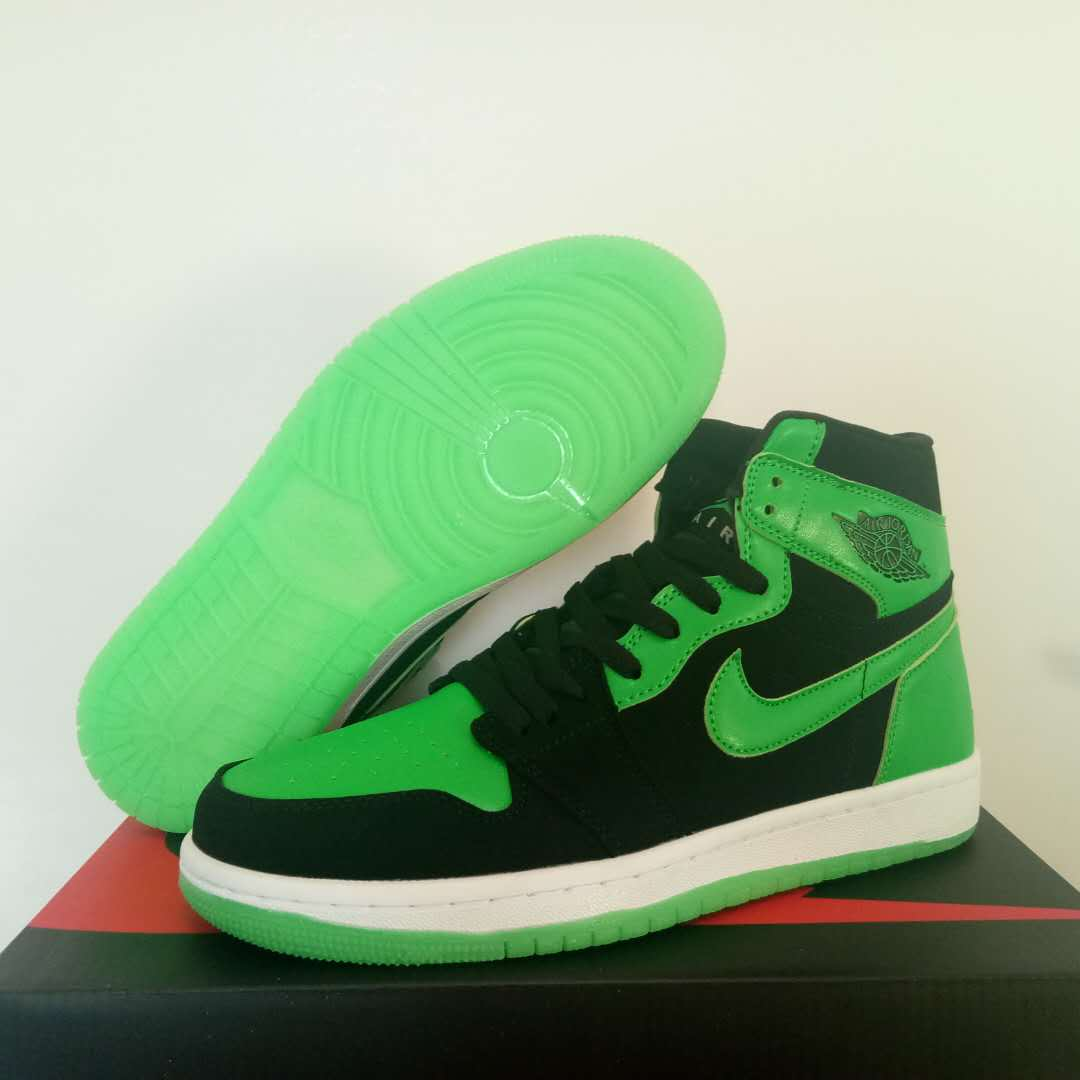 New Air Jordan 1 Olive Green Black Shoes For Women