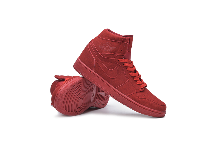 New Air Jordan 1 Sky All Red GS Shoes