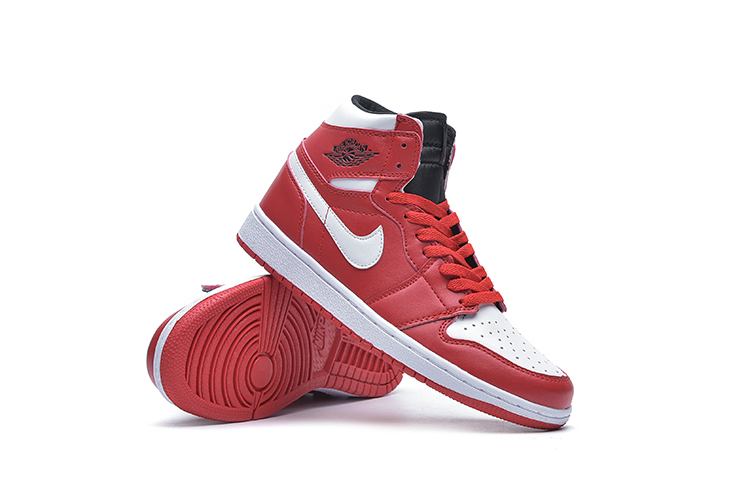 New Air Jordan 1 Sky Red White Shoes