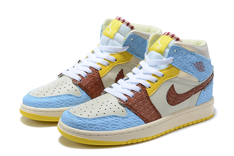 2020 Air Jordan 1 Retro White Baby Blue Yellow Brown 20retro3911 81 00 2013 Air Jordans Retro T2013 Air Jordans Retro