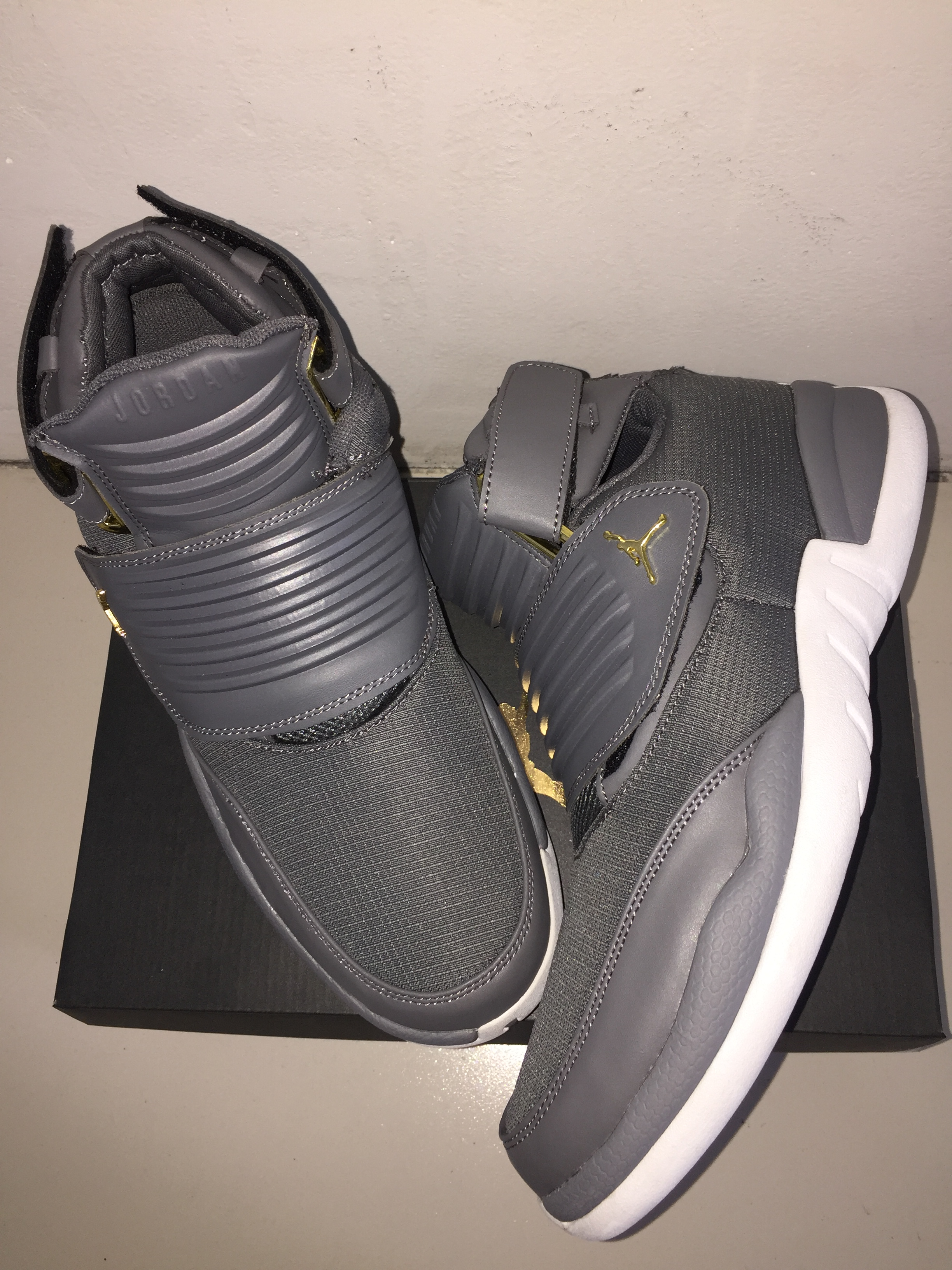 New Air Jordan Generation 23 Black White Shoes