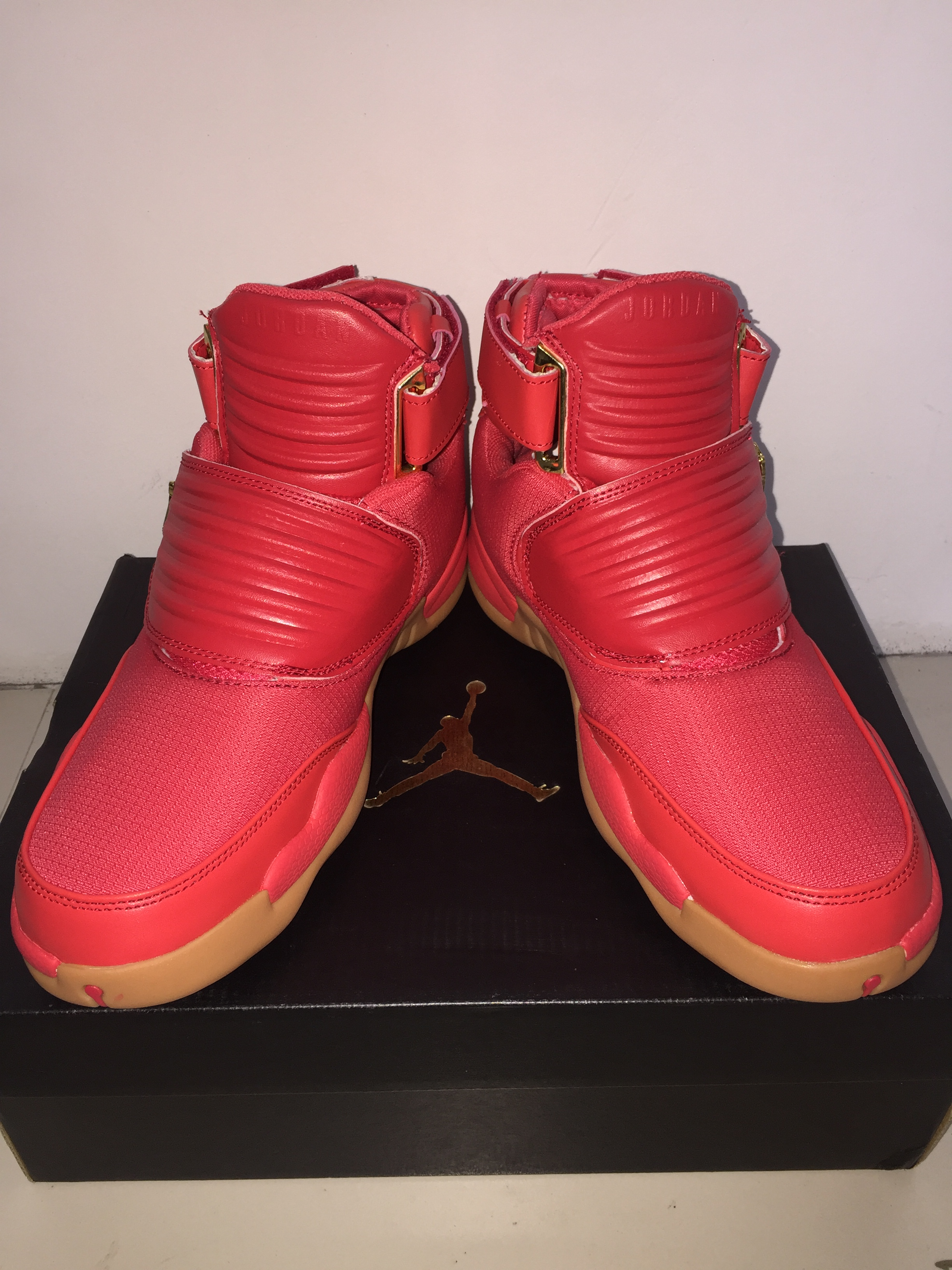 New Air Jordan Generation 23 Red Gum Sole Shoes