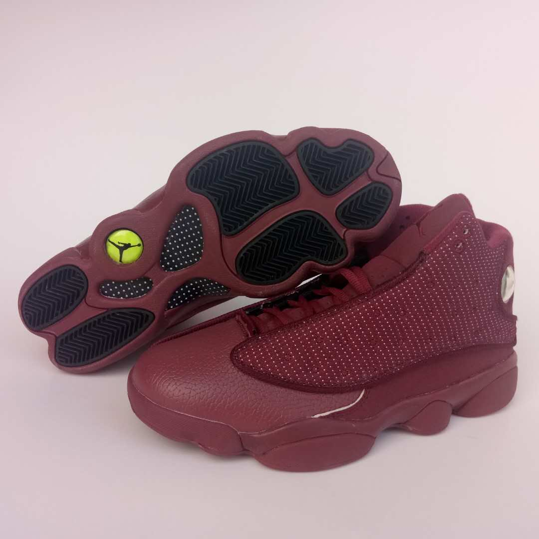 New Air Jordan 13 Retro Wine Red Shoes