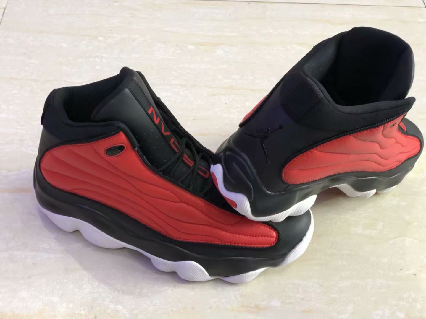 New Air Jordan 13.5 Red Black Shoes