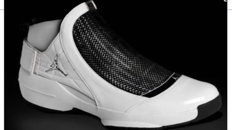 New Air Jordan 19 White Black Shoes