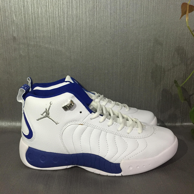540f5b22f66dd7 2017 Jordan Jumpman Pro White Blue Shoes  17RETRO102723  -  80.00 ...