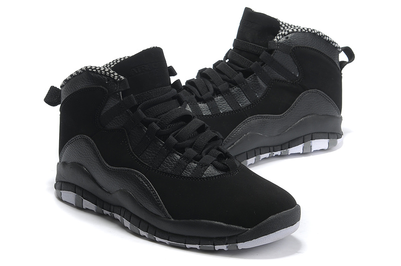 air jordan 10 all black
