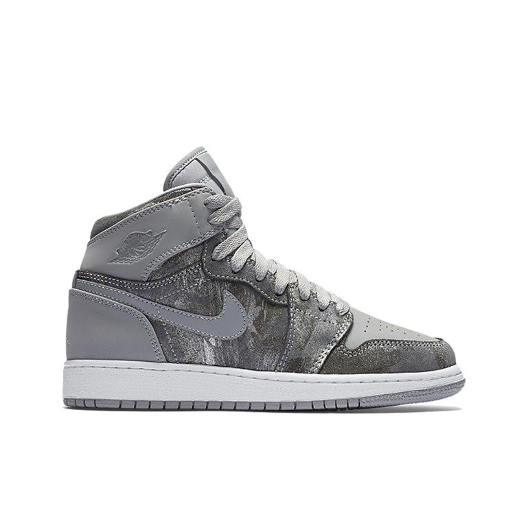 2017 Jordan 1 All Star Grey Silver Shoes