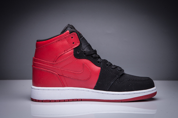 2016 Jordan 1 High Black Red