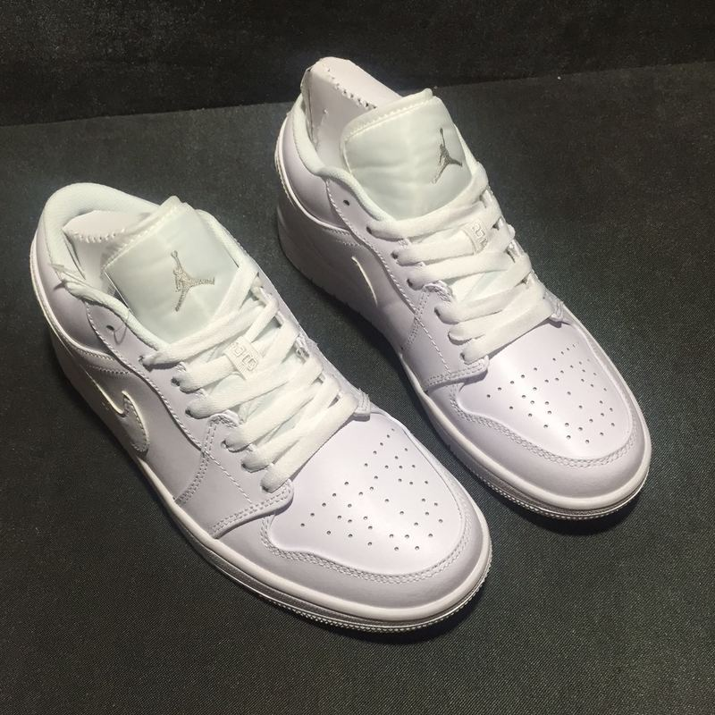 air jordan 1 low white price