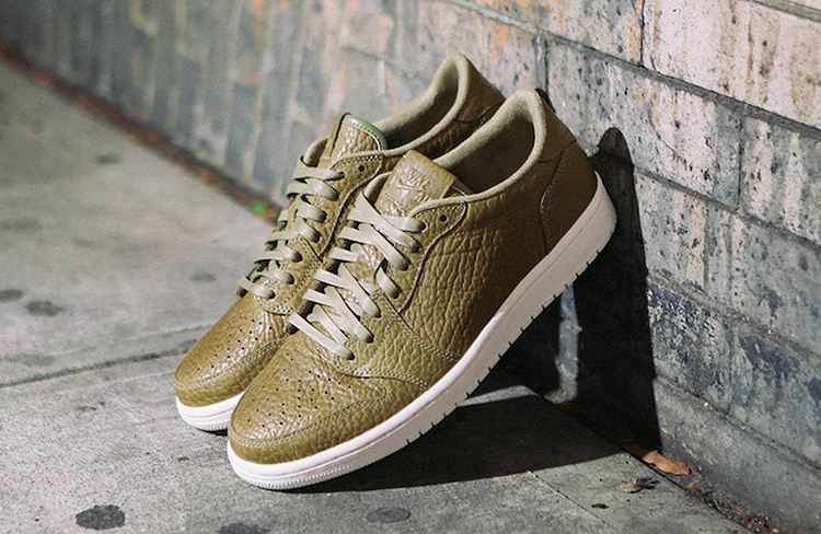 2016 Jordan 1 Low Army Shoes