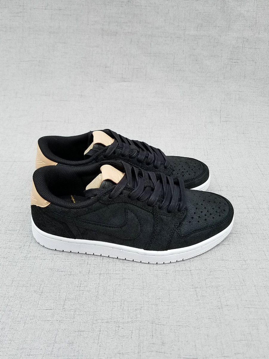 2017 Jordan 1 Low Black Brown Shoes