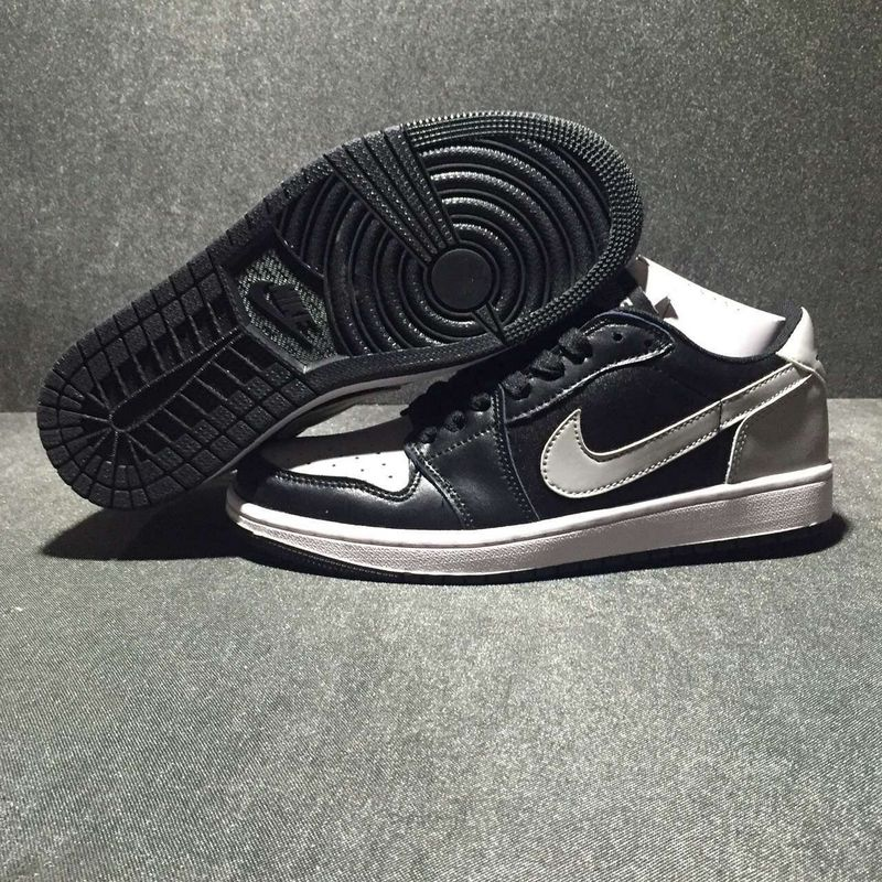 2016 Jordan 1 Low Grey Carbon Black