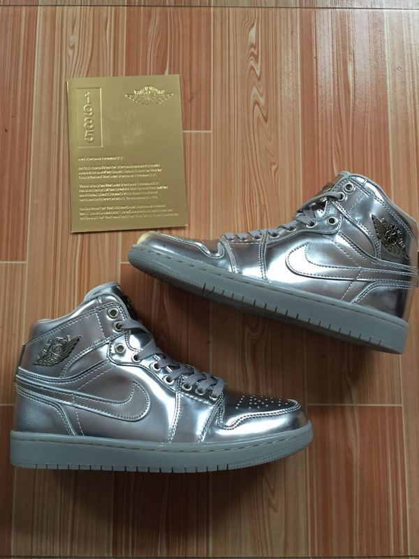 2016 Air Jordan 1 Retro All Silver