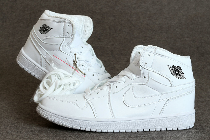 Mens Air Jordan Retro 1 White shoes