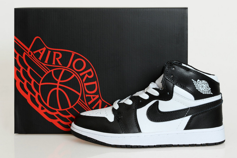 2015 New Retro Black White Air-Jordans 1