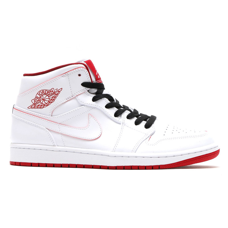 2016 Jordan 1 Retro White Red Black