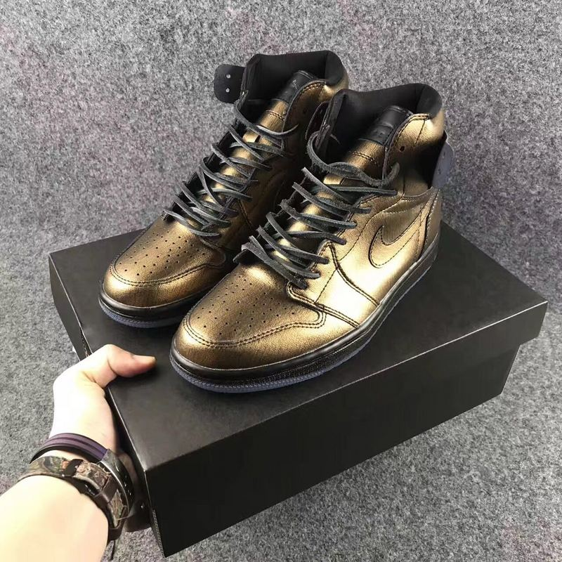 2017 Jordan 1 Retro Wings Gold