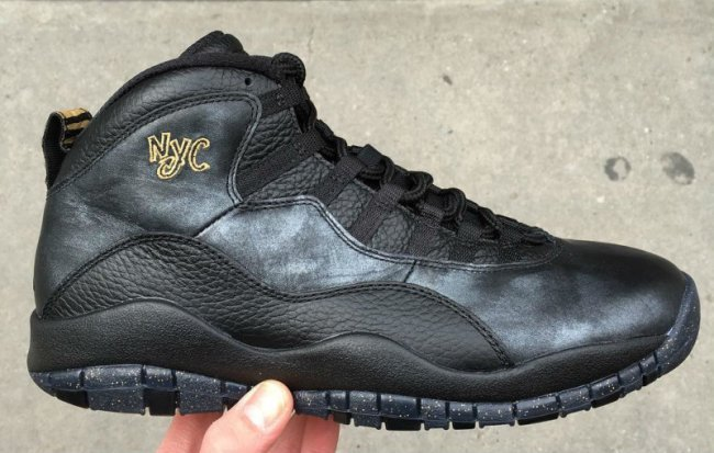 2016 Air Jordan 10 NYC All Black