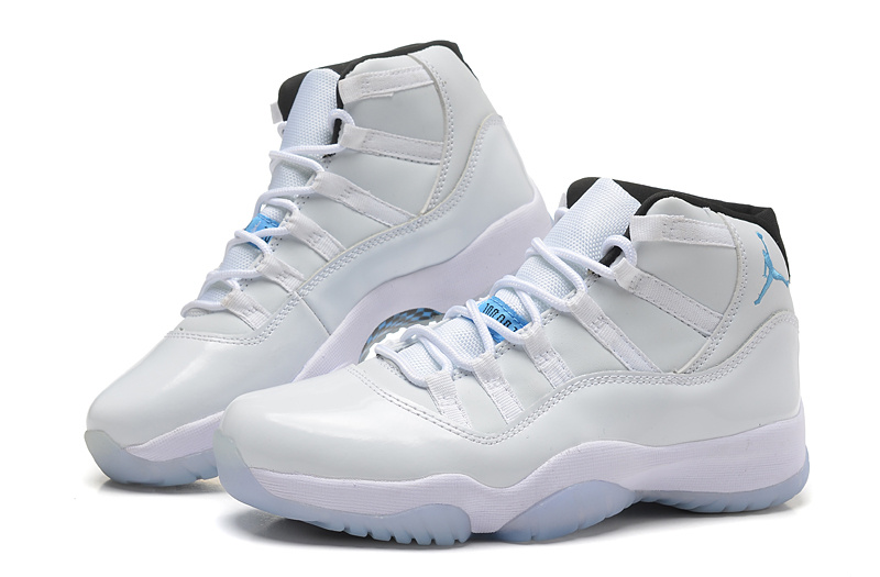 New Women All White Air Jordans 11