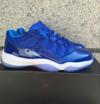 2016 Jordan 11 Low Royal Blue Shoes