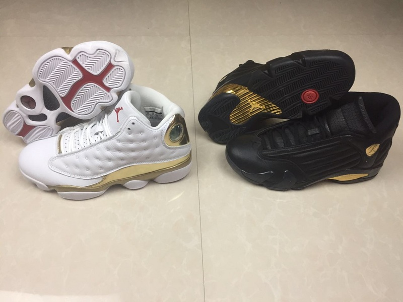 2017 Air Jordan 13&14 Champion DMP Package