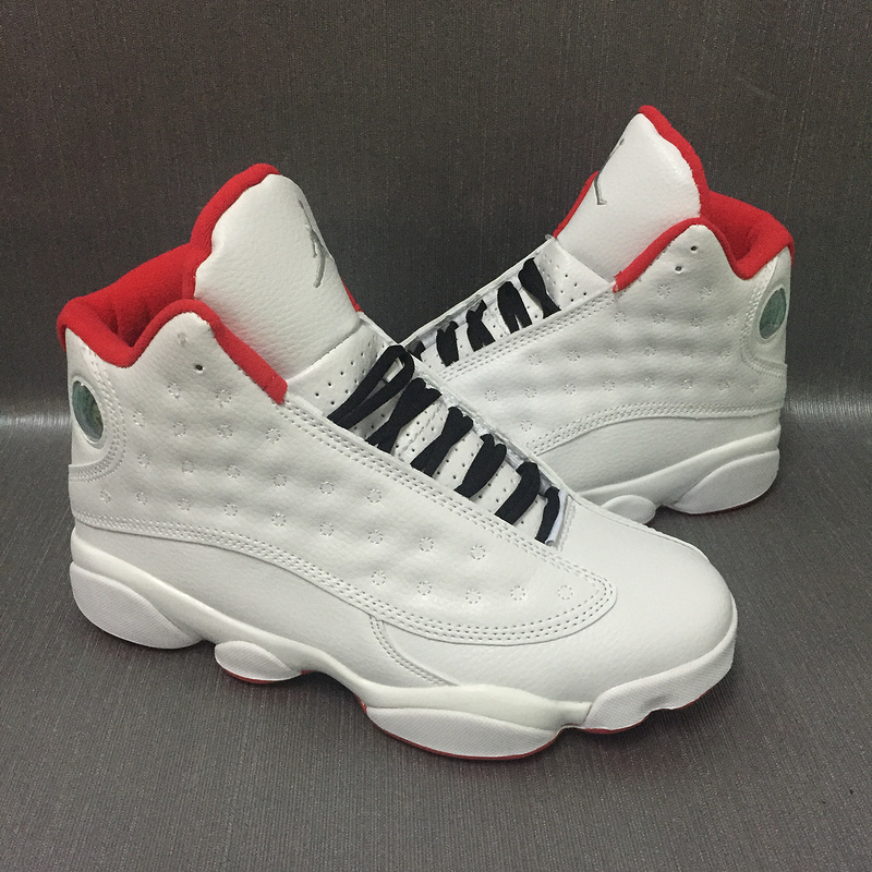 2017 Jordan 13 Retro White Red