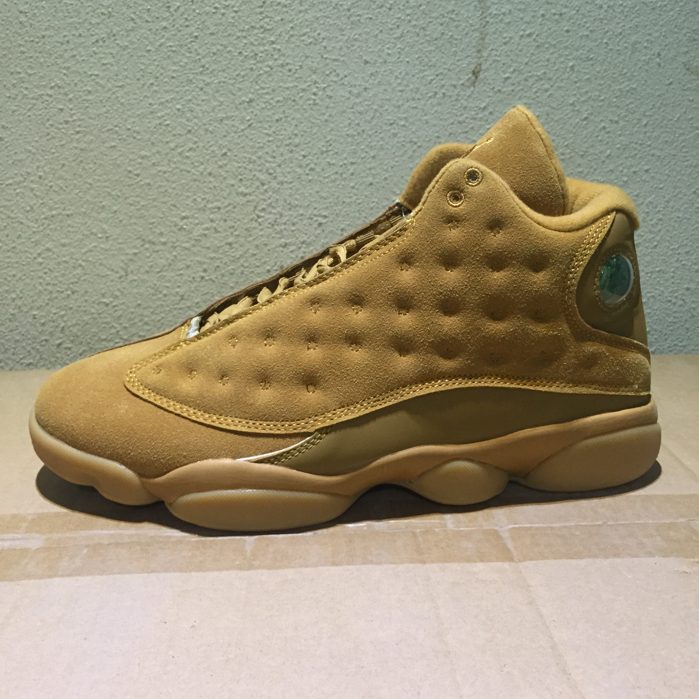2017 Jordan 13 Retro Wheat Yellow