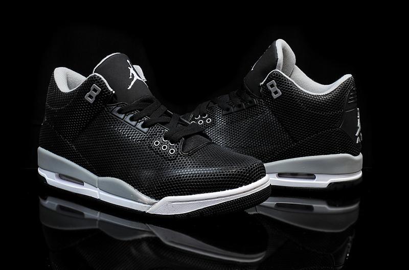 Air Jordan 3 Jordan En Blanco Y Negro Retro HbmWy0fFIa
