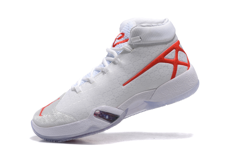 2016 Jordan 30 White Red Sheoes