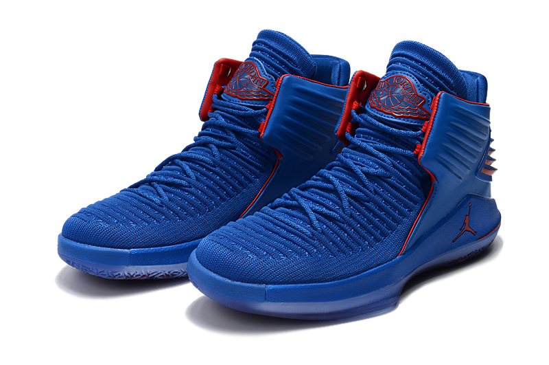 New Jordan 32 Blue Red Shoes