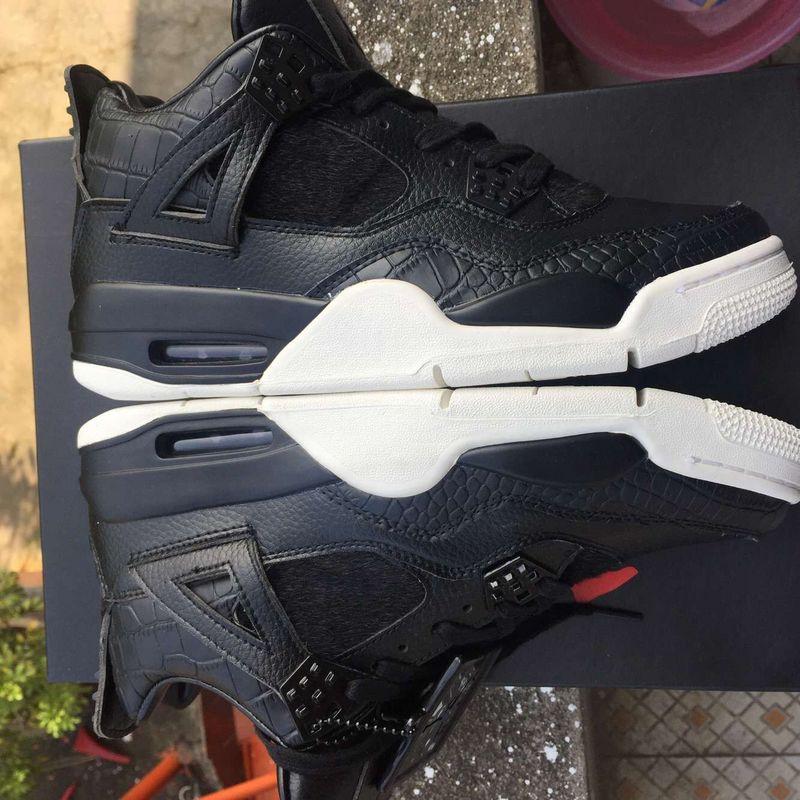 2016 Jordan 4 Black White
