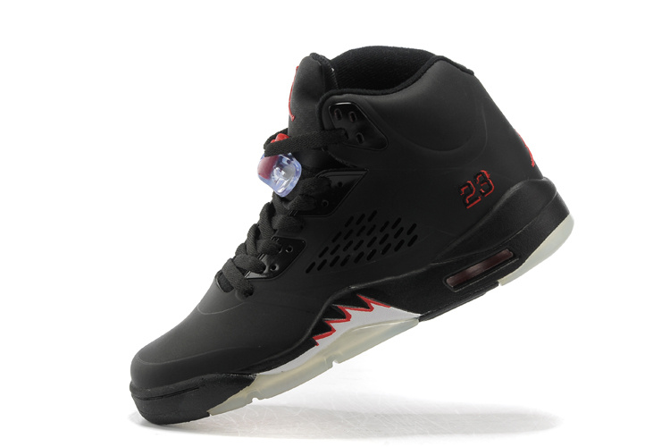 air jordan retro 5 all black