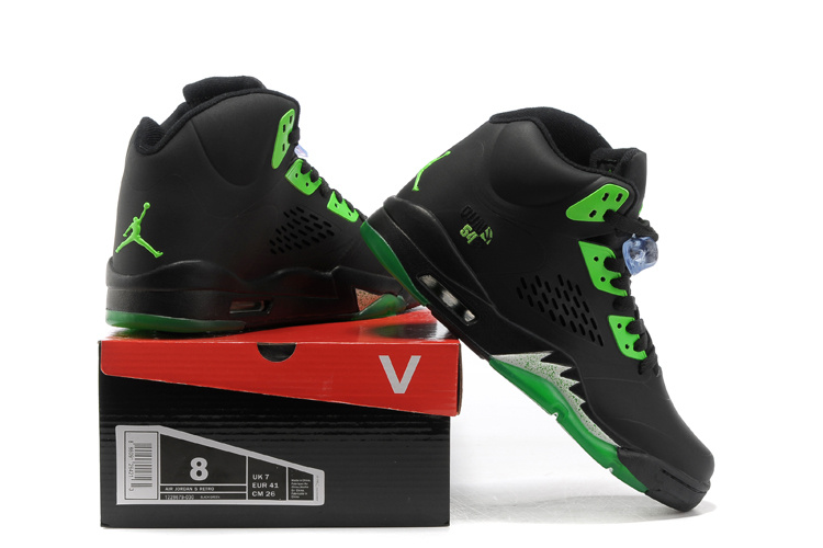 competitive price c5e1c 0370c ... retro 7 green orange  new air jordan 5 black green shoes for . ...