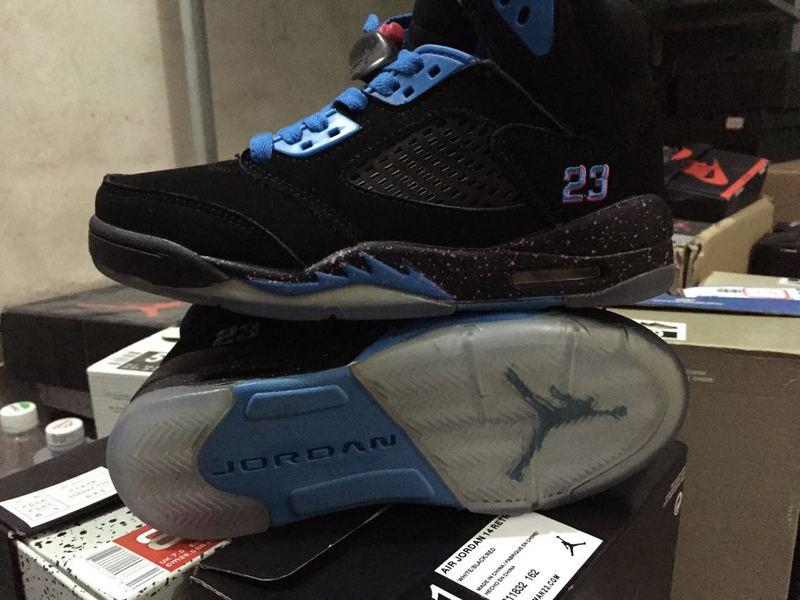 f857fcc9c023c7 ... best price 2015 air jordan 5 south beach black blue for women 900e3  bc458