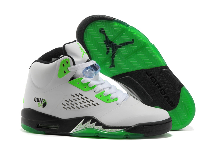 green jordan shoes for boys