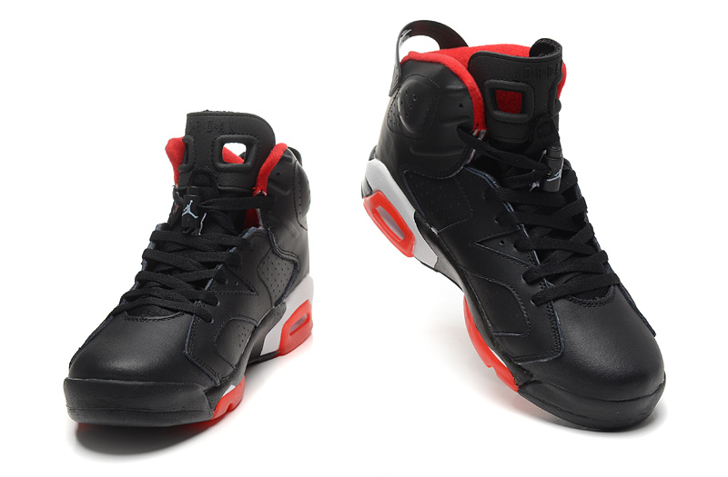 2015 New Jordans 6 Black Red