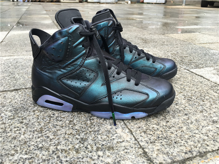 2016 Air Jordan 6 Chameleon Shoes