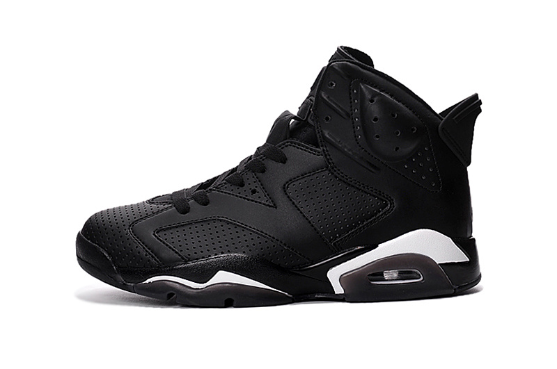 2016 Jordan 6 Retro All Black Cat Shoes