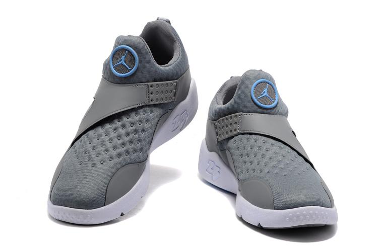 2017 Jordan 8 Grey Blue Training Shoes